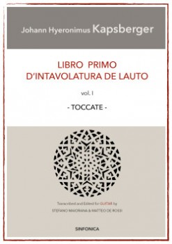 Libro Primo Vol.1: Toccatas available at Guitar Notes.