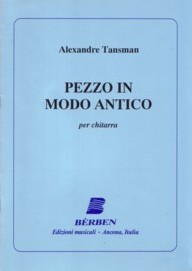 Pezzo in modo antico available at Guitar Notes.