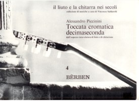 Toccata cromatica decimaseconda available at Guitar Notes.