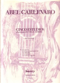 Cinco estudios: no.4 available at Guitar Notes.
