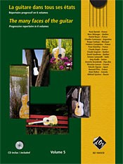 The Many Faces of the Guitar, Vol.5 available at Guitar Notes.