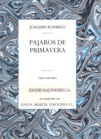 Pajaros de primavera available at Guitar Notes.