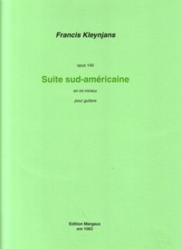 Suite sudamericaine, op.149 available at Guitar Notes.