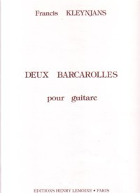 Deux Barcarolles, op.60 available at Guitar Notes.