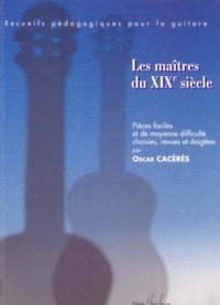 Les Maitres du XIXe Siecle available at Guitar Notes.