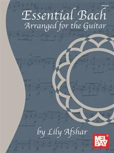 Essential Bach (Afshar) available at Guitar Notes.