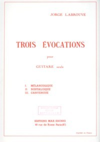 Trois Evocations available at Guitar Notes.