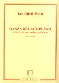 Danza del Altiplano available at Guitar Notes.