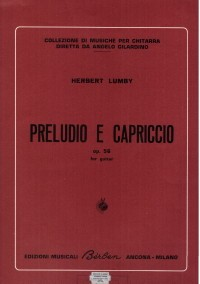 Preludio e Capriccio op.56(Lumby) available at Guitar Notes.