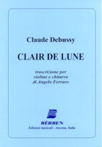 Clair de Lune(Ferraro) available at Guitar Notes.