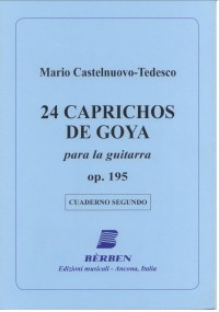 24 Caprichos de Goya, Vol.2 available at Guitar Notes.