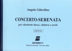 Concerto-Serenata [2006] [BCl & Gtr] available at Guitar Notes.