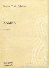 Zamba available at Guitar Notes.