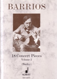 18 Concert Pieces, Vol.2(Burley) available at Guitar Notes.
