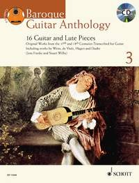 Baroque Guitar Anthology 3 [BCD] available at Guitar Notes.