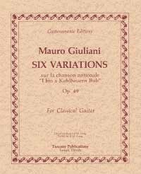 Variations, op.49(Long) available at Guitar Notes.