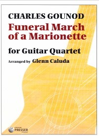 Funeral March of a Marionette available at Guitar Notes.