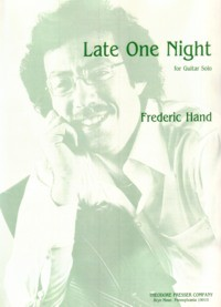 Late One Night available at Guitar Notes.