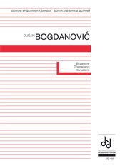 Byzantine Theme & Variations [2Vn/Va/Vc/Gtr] available at Guitar Notes.