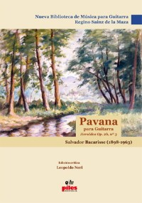 Pavana (Sainz de la Maza) available at Guitar Notes.