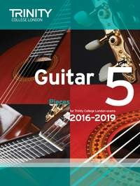Guitar Exam Pieces Grade 5 2016-2019 available at Guitar Notes.