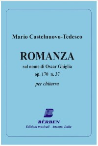 Romanza, op.170/37 available at Guitar Notes.