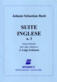 English Suite no.3(Schinina) available at Guitar Notes.