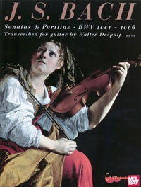 Sonatas & Partitas BWV1001-1006(Despalj) available at Guitar Notes.