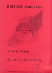 Suite de Setiembre available at Guitar Notes.