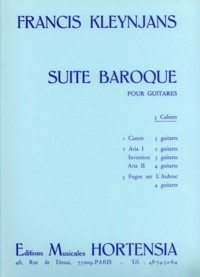 Suite Baroque, Vol.2 available at Guitar Notes.