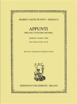 Appunti, op.210, Book 2.1 available at Guitar Notes.