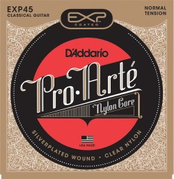 Pro Arte: EXP45 Coated Silver/Normal Tension available at Guitar Notes.