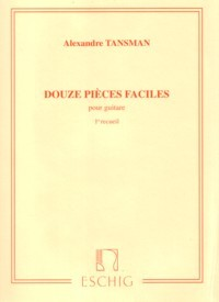 Douze Pieces Faciles, Vol.1 available at Guitar Notes.