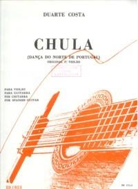 Chula, danca portuguesa available at Guitar Notes.