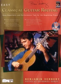 Easy Classical Guitar Recital available at Guitar Notes.
