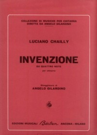 Invenzione available at Guitar Notes.