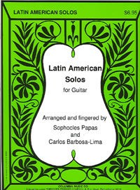 Latin American Solos available at Guitar Notes.