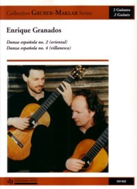 Danza espanola nos.2 & 4(Gruber-Maklar) available at Guitar Notes.