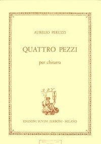 Quattro Pezzi available at Guitar Notes.