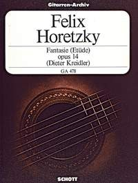 Fantasie(etude) op.14 available at Guitar Notes.