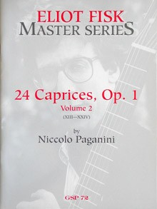 24 Caprices, op.1 Vol.2(Fisk) available at Guitar Notes.
