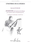 Andante in G RV532(Rivoal) [7Gtr] available at Guitar Notes.