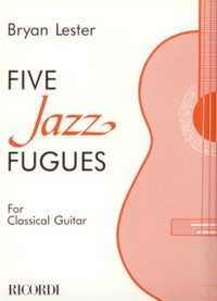Five Jazz Fugues available at Guitar Notes.
