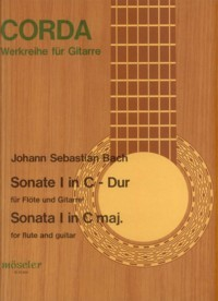 Sonata I BWV1033(Buttmann) available at Guitar Notes.