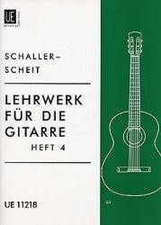 Lehrwerk fur die Gitarre, Vol.4 available at Guitar Notes.