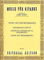 Renaissance Dances(Scheit) available at Guitar Notes.
