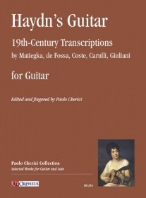 Haydn's Guitar, 19th Century Transcriptions available at Guitar Notes.