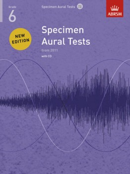 Specimen Aural Tests: Grade 6 available at Guitar Notes.