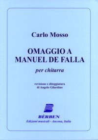 Omaggio a Manuel de Falla(Gilardino) available at Guitar Notes.