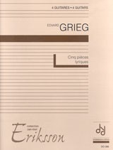 Five Lyric Pieces(Eriksson) available at Guitar Notes.